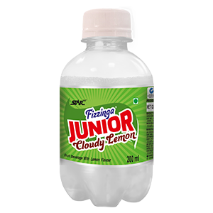 Junior Fizzinga Cloudy Lemon